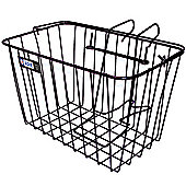 Adie Front Large Cycle Wire Basket Black