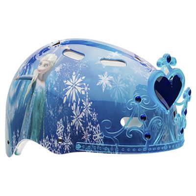 Buy Disney Frozen 3D Tiara,Kids' Bike Helmet, 51-54cm from our Kids