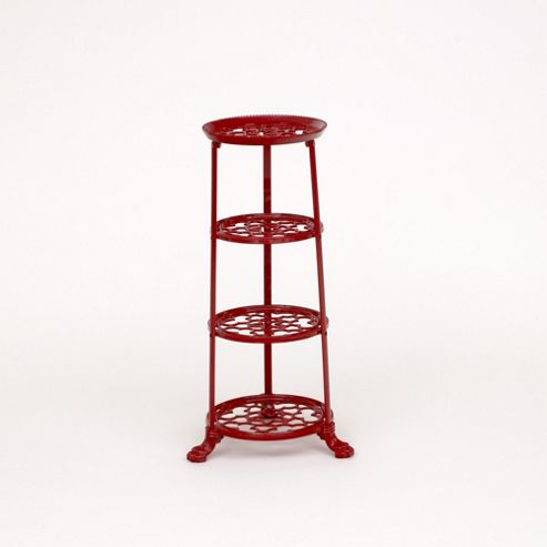 VICTOR Pan Stand in Chilli Red - 6 Tiers