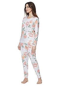 F&F Floral Twosie Pyjamas - Multi
