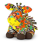 Melissa and Doug Plush Beeposh Zelda Zebra