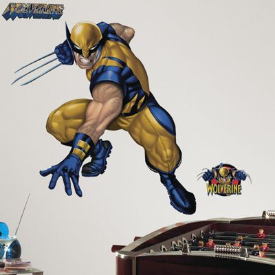Marvel Wolverine Giant Wall Sticker