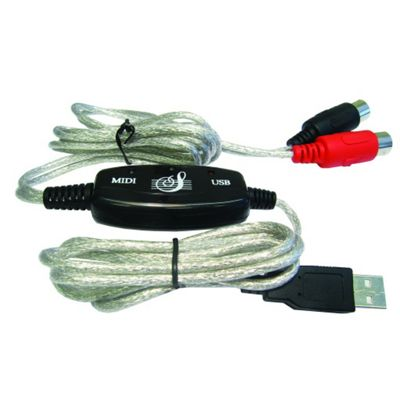 USB to MIDI Adaptor Lead