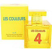 Laurelle Les Couleurs 4 Homme Eau de Parfum (EDP) 100ml Spray For Men