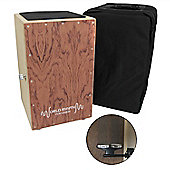 Tiger Brown Cajon with Padded Bag