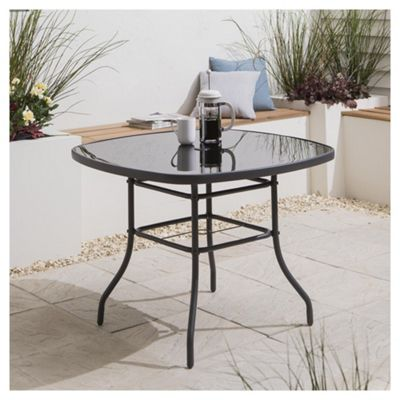 Rattan Garden Furniture Tesco buy tesco seville garden table, 96.5cm from our garden tables