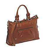 OiOi Tote Slouch Bag (Tan Leather)