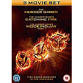 The Hunger Games: Triple Pack DVD 3disc
