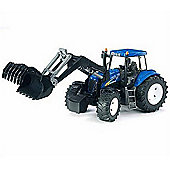Bruder New Holland T8040 With Frontloader Tractor