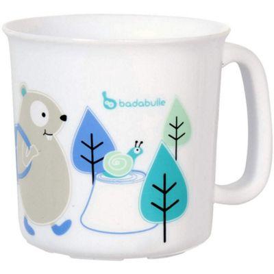 Badabulle Microwaveable Cup (Blue Beaver)