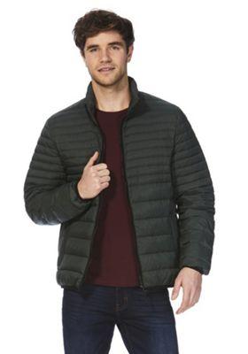F&F Down Fill Puffer Jacket Green M