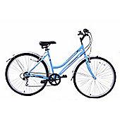 "Professional Commuter Womens 19"" Frame 6 Speed Bike Blue 700c"