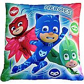 Disney Pj Masks 'Heroes vs Villains' Printed Cushion