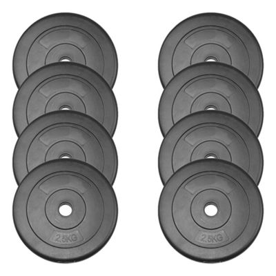 JLL Vinyl Weight Plates - 8 x 2.5kg (20kg)