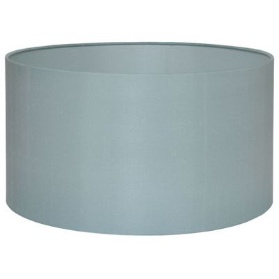 Modern Style 35cm Duck Egg Lamp Shade Silk Lined Cylinder Shade