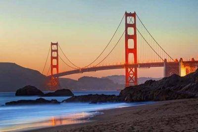 The Golden Gate Bridge - 1000 pieces Puzzle