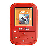 SanDisk Clip Sport Plus 16GB Red MP3 player
