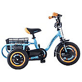 "Concept Boys 2 + One 12"" Wheel Trike"
