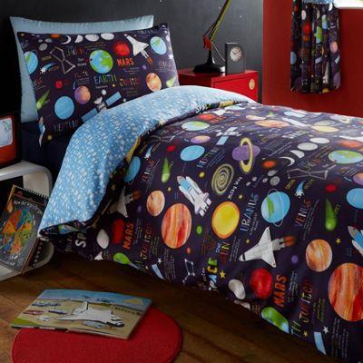 Planets Double Duvet