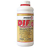 Zinsser 1L Dif Wallpaper Stripper Concentrate For Fast And Easy Removal Of Wallcoverings