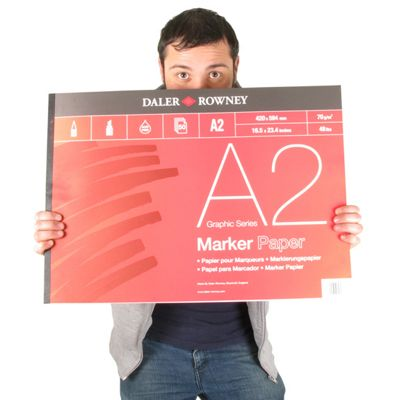 A Series Marker Pad 70Gsm A2