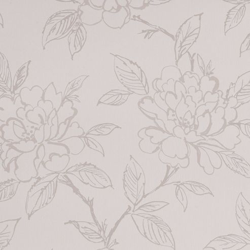 Superfresco Bloom Floral White Wallpaper