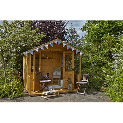 Forest Garden 8x8 Hollington Summerhouse