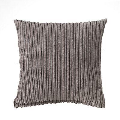 Charcoal Jumbo Cord Cushion 24