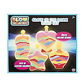 Glow Collection Sand Art Glow In The Dark Playset
