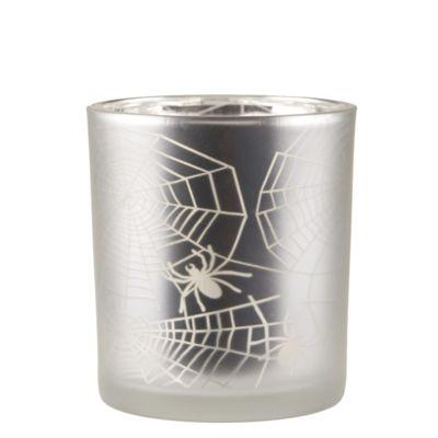Halloween Spiders Web Tea Light Holder - Small