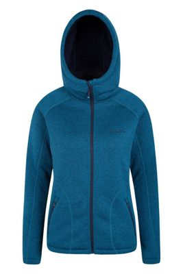 Mountain Warehouse NEVIS WOMENS FUR LINED HOODIE ( Size: 8 )