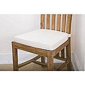 Linen Seat Pad Cushion Natural