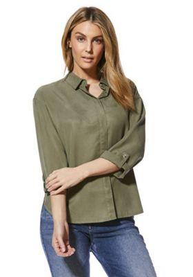 F&F Tencel® Shirt Khaki 10