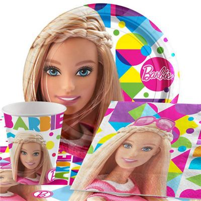 Barbie Party Pack - Value Party for 8