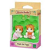 SYLVANIAN Families Maple Cat Twins Babies - Figures 5292