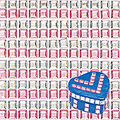 Pink & Silver Stick-on Acrylic Jewel Stickers for Crafting Making Cards and Decorating Collages (Pack of 480)