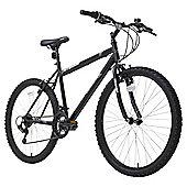 Terrain 26 inch Wheel Rigid Black Mens Mountain Bike