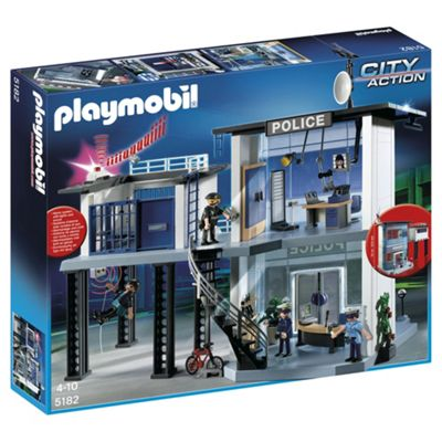 Playmobil 5182 City Action Police Station with Alarm System