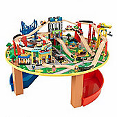 Kidkraft City Explorers Train Set and Table