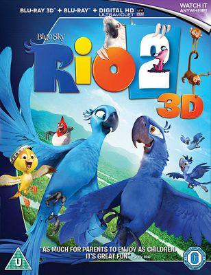 Rio 2 3D Bd - Digital Hd Uv