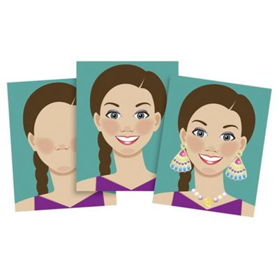 Make - A - Face - Sticker Pad - Melissa & Doug