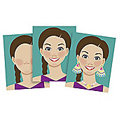 Make - A - Face - Sticker Pad - Melissa & Doug