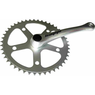 Stronglight 55 Series Single Chainset: 40T x 3/32inch. 170mm Cranks