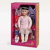 Our Generation 18-inch Sydney Lee Doll With Book