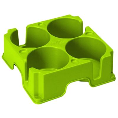 Pair of Muggis - The Safest Drinks Tray in the World - Green