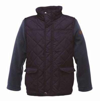 Kids Boys Jiminy Fleece Jacket Navy - UK 9-10 - Regatta