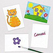Canvas Panels (Pack of 5)