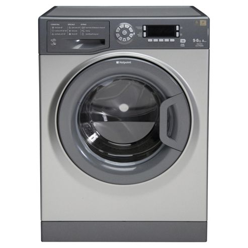 Hotpoint Ultima Washer Dryer, WDUD 9640G UK, 9KG load, with 1400 rpm - Graphite
