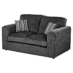 Taunton Compact 2 Seater Sofa, Dark Grey