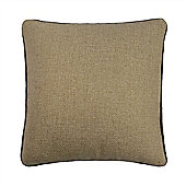 Catherine Lansfield Brushed Heritage Plain Cushion Cover 45x45 - Oatmeal